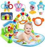 Baby Play Gym with Musical Piano and Hanging Toys/Musical Play Mat