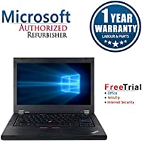 Lenovo ThinkPad T420 14 Inch Business High Performance Laptop Computer(Intel Core i5 2410M 2.3G,4G RAM DDR3,320G HDD,DVD-ROM,Windows 10 Professional)(Certified Refurbished)