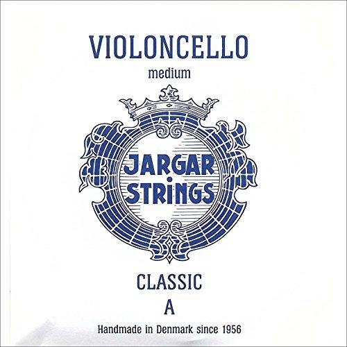 Jargar Jargar A Cello Medium Coated Steel Strings, Medium