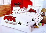Le Vele Full/Queen Bed Modern Bedding Duvet Cover Set LE58Q