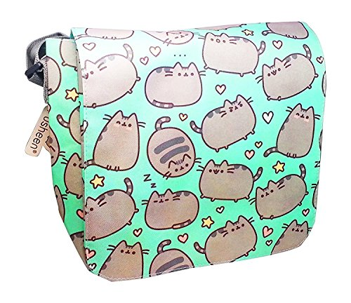 Pusheen The Cat Messenger Cross Body Shoulder Bag ()