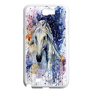 Horse racing Case Cover Best For Samsung Galaxy Note 2 Case FKLB-T513621