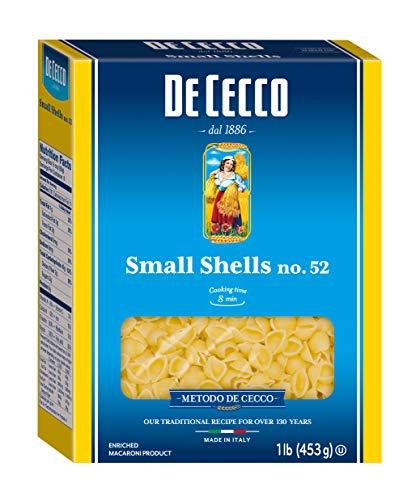 - De Cecco Semolina Pasta, Small Shells No.52,  1 Pound (Pack of 5)