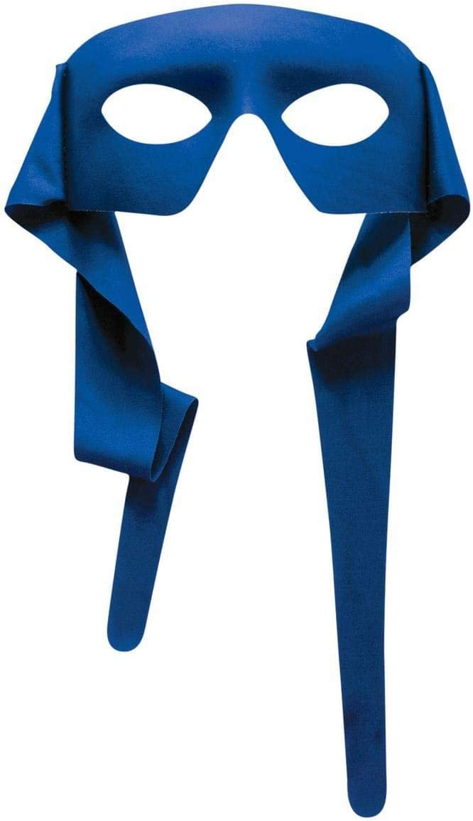 Forum Novelties Mysterious Blue Eye Men Mask with Tie