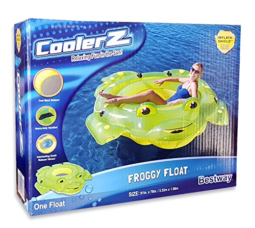 CoolerZ Froggy Inflatable Floating Tube ()