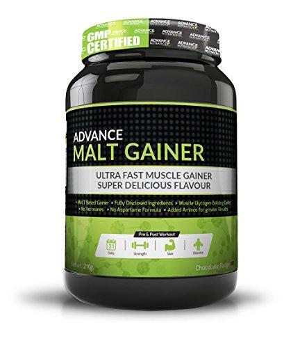 Advance Nutratech Malt Gainer 2kg (4.4 Lbs) Chocolate Malt Gainer