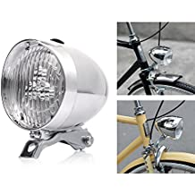 Bike Light Front LED 180lumens Vintage Bicycle Headlight Retro Fashionable Decoration Cycling Flashlight Lamp