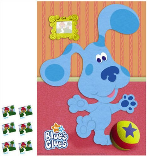 Blue's Clues Party Game Poster (1ct) Blues Clues Party Decorations