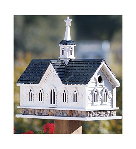- Wind & Weather Star Barn Birdhouse, Classic Dutch Style Barn, Pine Shingles, 2 Nesting Boxes