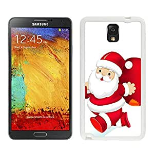Galaxy Note 3 Case,Christmas Santa Claus Red Gift Bag Black TPU Note 3 Case-Christmas Series Samsung Note 3 Case by icecream design