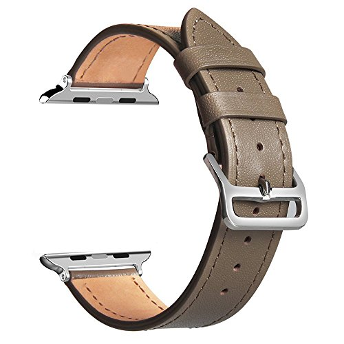Genuine Leather Bracelet Watchband Adapter