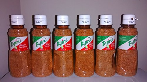 Tajin Seasoning, Clasico Seasoning, Net Wt. 5 Oz (142 G) , 6 Pieces by Tajin