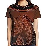 WuLion Ethnic Unicorn Profile with Asian Embellish Lace Mandala...