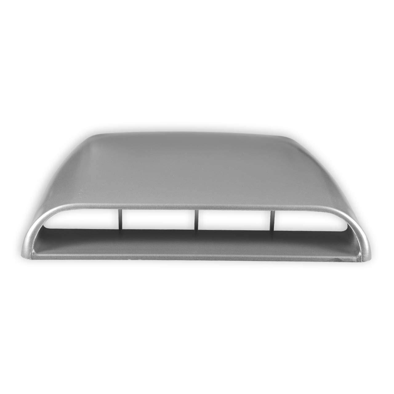NATGIC Car Air Flow Vent Cover Universal Car Decorative Air Flow Intake Hood Scoop Bonnet Vent Sticker Cover Hood Carbon Fiber