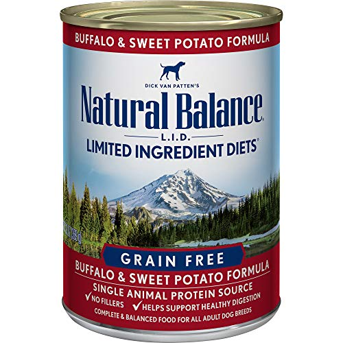 Natural Balance Limited Ingredient Diets – Buffalo & Sweet Potato – 12 x 13 oz For Sale