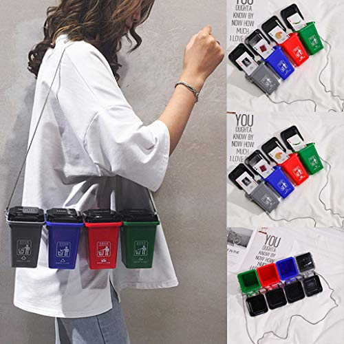 Gotian Women's Cute Environmental Protection Bag Garbage Sorting Bag Trash Can Bag, Perfect for Parties, Dance Parties, Everyday Casual Wear, Give Your Friends, Family or Your Own Good Gifts