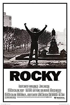 """Classic Movie - Rocky Balboa Poster(12""""x18"""") By A-ONE POSTERS"""