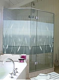 Plage 161015 - Adhesivo decorativo para pared de ducha (vinilo, 80 x 200 cm), color gris: Amazon.es: Hogar