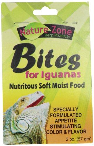 Iguana Bites - Nature Zone SNZ54630 Iguana Bites Soft Moist Food, 2-Ounce