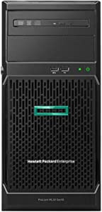 HP ProLiant ML30 Gen10 Tower Server Bundle with Intel Xeon E-2124, 16GB DDR4, 4TB SATA, RAID, and 16GB USB Drive