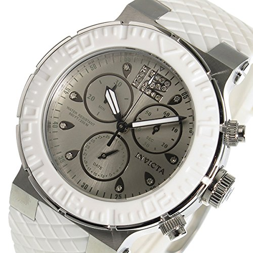INVICTA Quartz Chronograph Women's Watch 90278 Silver