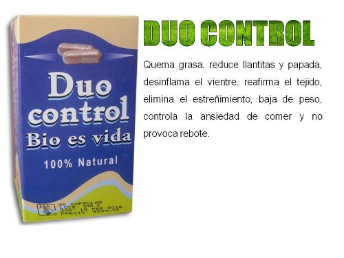 DUO Control Weight Loss Diet Pills Fat Burner