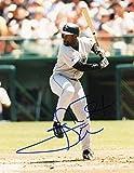 Carl Everett Autographed Picture - At Bat 8x10 W coa - Autographed MLB Photos