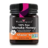 Wedderspoon 100% Raw Manuka Honey - KFactor 16-8.8 oz