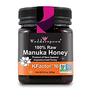 Wedderspoon 100% Raw Manuka Honey - KFactor 16 - 8.8 oz
