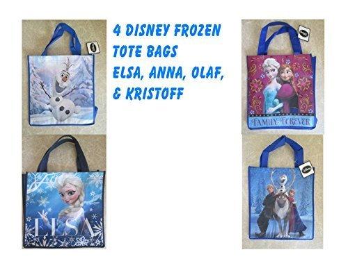 descuentos y mas 4 Disney Frozen Reusable Tote Bags Elsa Anna Anna Anna Olaf Kristoff by Spurgrl  servicio honesto