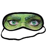 The Grinch EYM1712 Eye Printed Travel Eye Mask Sleeping