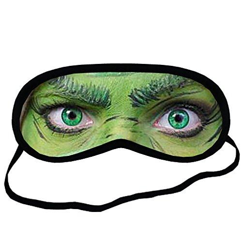 The Grinch EYM1712 Eye Printed Travel Eye Mask Sleeping by Eye Mask Sleeping