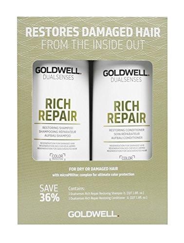 Goldwell Dual Senses Rich Repair Shampoo & Conditioner Hair 25.4 oz ()