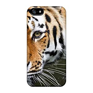 Kimmith Premium Protective Hard Case For Iphone 5/5s- Nice Design - Wuppertal Tiger
