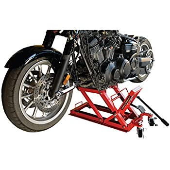 Amazon Com Goplus Hydraulic Motorcycle Dirt Bike Lift