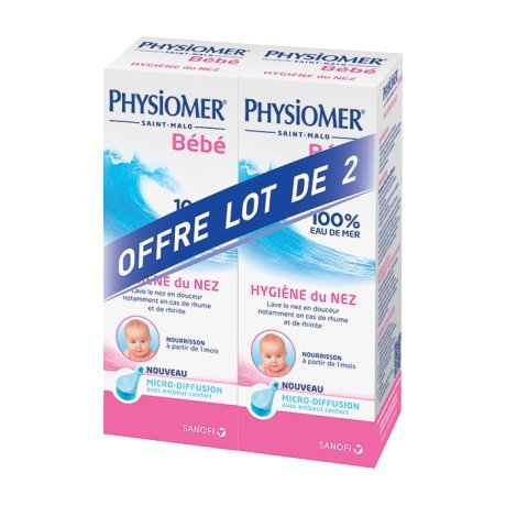 Physiomer Nasal Hygiene Baby Micro-Diffusion 2 x 115ml