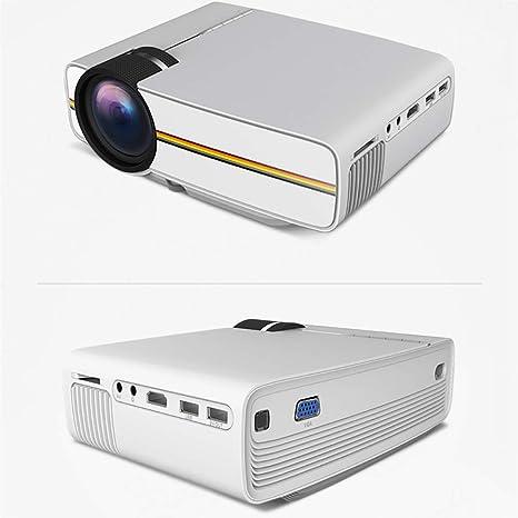 Proyector Mini proyector de video con 138 pulgadas 1080p Apoyo ...