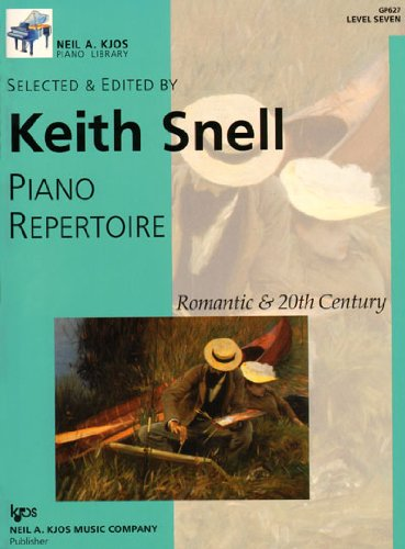 GP627 - Piano Repertoire: Romantic & 20th Century, Level 7