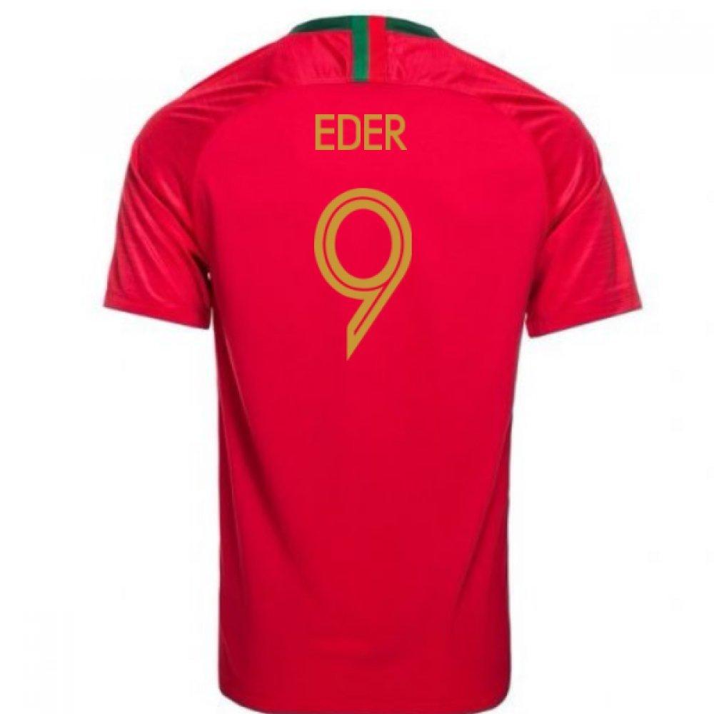 早い者勝ち 2018-2019 2018-2019 Portugal Home Nike Football XL Shirt (Eder 46-48