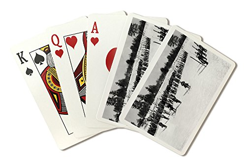 land-o-lakes-wisconsin-skiers-on-parade-near-kings-gateway-hotel-playing-card-deck-52-card-poker-siz