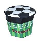 HOMEE Sofa stool- oxford cloth creative stool toy octagonal storage stool change shoe stool storage stool (2 colors optional) (30 30cm) --storage stool,A