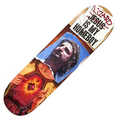 人気大割引 DEATHWISH デスウィッシュ【Lizard King Is My スケボー x Is Homeboy Deck】 8.25 x 31.5(inch) デッキ 板 スケボー スケート SKATEBOARD B07R3K5L4B, アムリット動物長生き研究所:d6733e2c --- domaska.lt