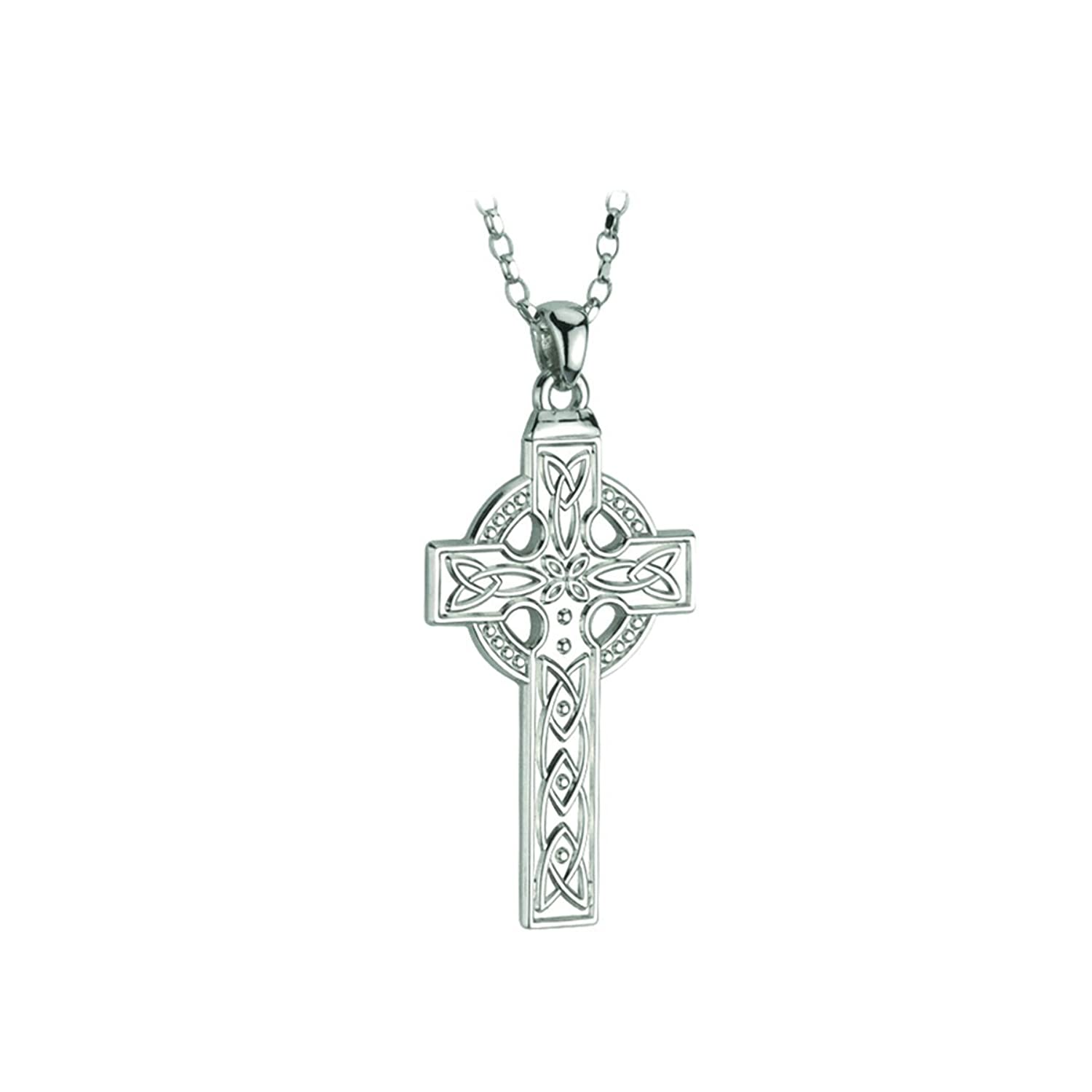 johnny celtic products cross fallow necklace ramli