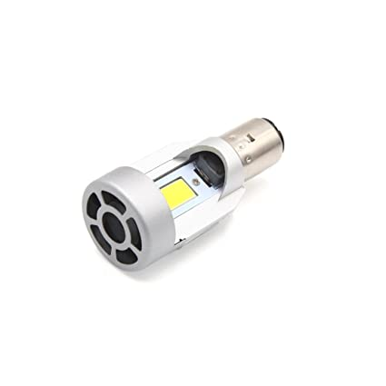 sourcing map DC 12V 20W COB LED Blanco Faro Delantero de ...