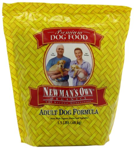 Newman's Own Organics Adult Dog Food, Chicken and Rice Dry Formula, 1.5 Pound, My Pet Supplies