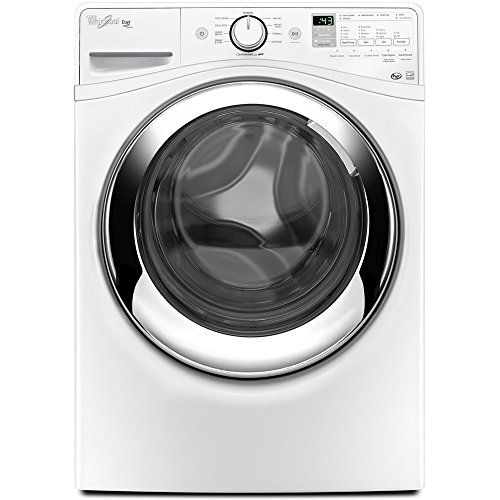 Whirlpool WFW87HEDW Duet 4.3 Cu. Ft. White Front Load Steam Washer (Front Load Washer Whirlpool compare prices)
