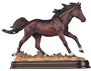 Horses collection brown horse figurine - Home interior horse pictures for sale ...