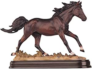 Horses Collection Brown Horse Figurine Decoration Decor Collectible