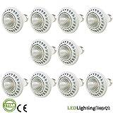 AmazingLED™ -- PAR20 *Pack of 10* 7W 120V(AC) (50 Watt Equivalent), 5000K Bright White Dimmable LED Light Bulb from Canada