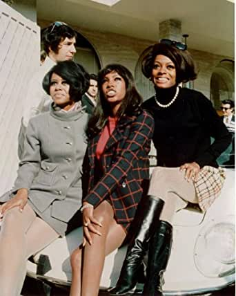 Diana Ross and Supremes 8x10 glossy photo G0256